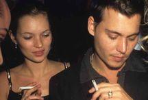 Katt Moss and Johnny Depp / Katt Moss and Johnny Depp
