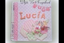 Álbum bebe princesa Lucia