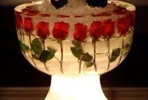 Champán / Ice flowers bucket