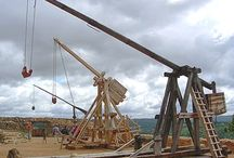 Structures of Long Range Throwing & Siege Weapons / A Soon History of Ancient Structures, Machines, Vehicles, Catapults, Tanks, Cannons, and Modern Weapons and Technologies that trigger at long range. / by Alisson Costa