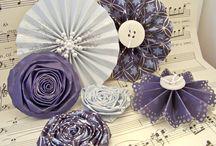 Craft Flowers / by Rachel Art
