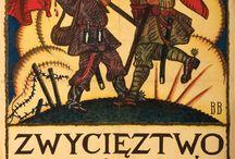 Plakat wojna polsko-bolszewicka