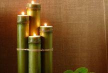 bambusz decor