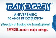 30 Años de Experiencia / TransExpress de Aniversario 20 de febrero 2014 30 años.