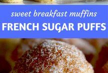 French sugar puffs.