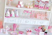 Hello Kitty Party Ideas / by Kara's Party Ideas .com