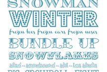 Winter  / by Katie Tharp