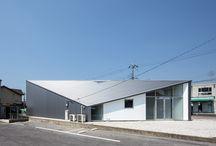 diagonal roof