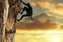 rock climbing & crossfit