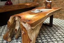 móveis em madeira