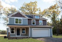 Belhaven House Plan / This two-story plan includes 4 bedrooms, 2 1/2 baths, 2-car garage and an open floor plan on the main level. #Sedgewick_Homes #NC_homebuilders #NC_custom_builder #construction_company