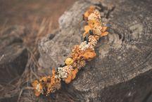 Tocados flores preservadas / Tocados de flores para novias e invitadas de bodas rústicas y en el campo. Hechos a mano por My Rustic Event (www.myrusticevent.com)