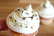 Cupcakes, muffins.