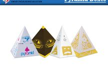 Pyramid Boxes / People are using pyramid boxes for their marriage ceremonies gift, birthday party gift and for special moment of life.