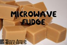 fudge and sweets