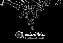 Madam Mitza socks / it's a Romanian new brand for socks.