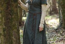 Vestidos medievais.