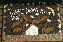Thistle Down Moon by Maggie Bonanomi