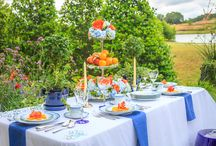 A Summer Ladies' Lunch / Design blogger from The Ace of Space Vicki Bolick shares her tips for styling a summer table.