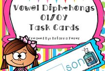 Vowel Diphthongs Activities