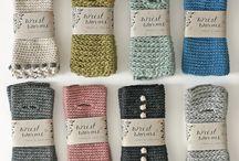 Crochet/knit arm leg weidt warmers