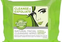 """Essenzza / """"I'm Fuss Free + Natural"""" – Natural Japanese Facial Sheet Masks + Facial Cleansing Wipes."""