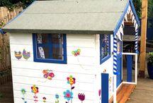 dětské domečky z palet