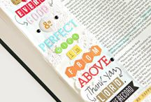 *James-Bible Journaling by Book / Bible Journaling examples from the book of James