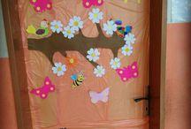 İlkbahar Cam Süsleme