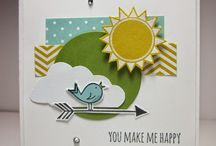 Hello Love Stampin' Up! Stamp Set Greeting Cards