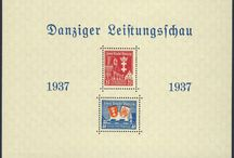 Stamps, Germany, Danzig