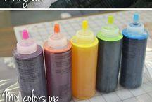 tie dye stuff
