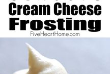 Cake Frosting and Icing / What to use to ice your cakes, cookies and cupcakes.