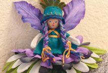 Flower Fairies & Fairy houses/gardens / by Sharon White