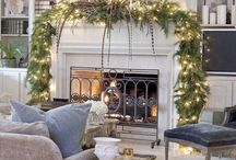 The Festive Fireplace / by Pamela Clark