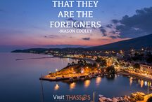 Quotes / Travel Quotes, with stunning images of Thassos Island, Greece