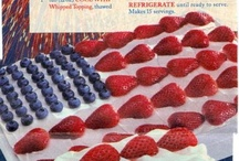 4th of July celebratory recipes / Express your joy through food - the joy of independence, liberation and true freedom