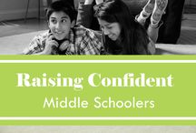 Raising Confident Middle Schoolers / We've got the tips and resources to help you talk with your middle schooler about the dangers of peer pressure.  / by FAAR