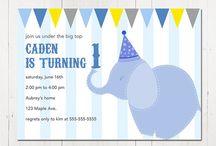 kid birthday invite
