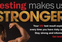 Testing Makes Us Stronger Campaign / The Centers for Disease Control and Prevention (CDC) developed Testing Makes Us Stronger for black gay and bisexual men with input from black gay and bisexual men across the country. The goal of this national campaign is to promote HIV testing among black gay and bisexual men. Testing Makes Us Stronger aims to demonstrate that knowing one's HIV status is important and empowering information.