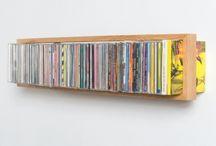 mueble para discos