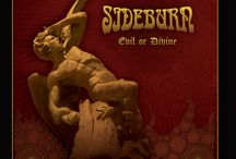 Sideburn / No, not the hairy piece. A band. Hard Rock and Heavy Metal. Of the old style. From Sweden.