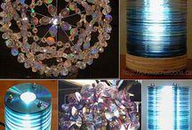 Reciclado con CD / by Liliana Inglieri