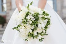 Bridal Bouquet - Wedding in France / Choose your bridal bouquet according to your dress and your body type.