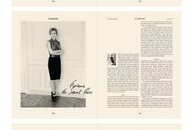layouts & editorial