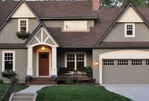 Exterior colors / by Jessica White Mitchell
