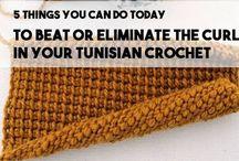 Eliminate cutting in Tunisian crochet.