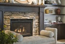 Fireplaces! / by Megan Guffey