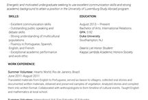 Resume Study Abroad Alluring Study Abroad Samples Studyabroadsamp On Pinterest