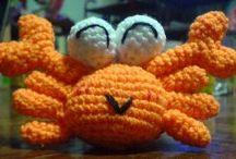 Free Amigurumi / Mostly crochet but a few are knit
